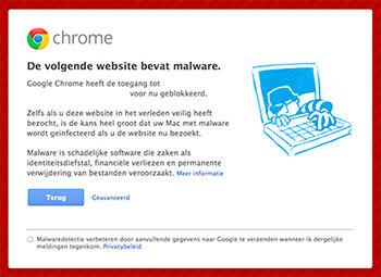 Malware melding