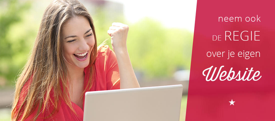 Wil jij ook gewoon de regie over je eigen website?