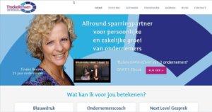Website van Tineke Rensen - ondernemerscoach