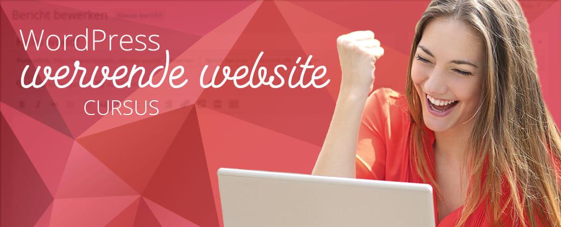 WordPress vervolgcursus door Marleen de Korver