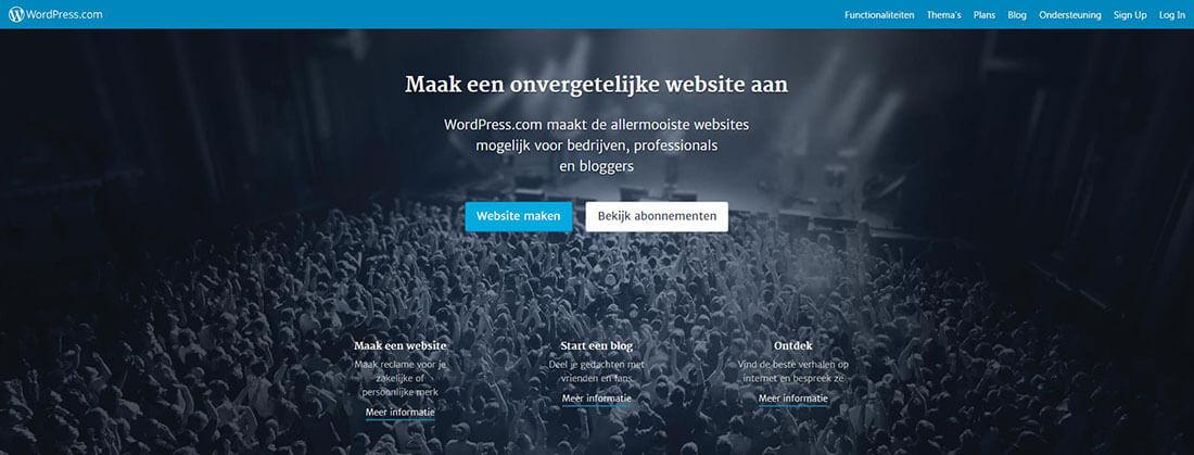 WordPress.com? Kijk uit wat je doet!