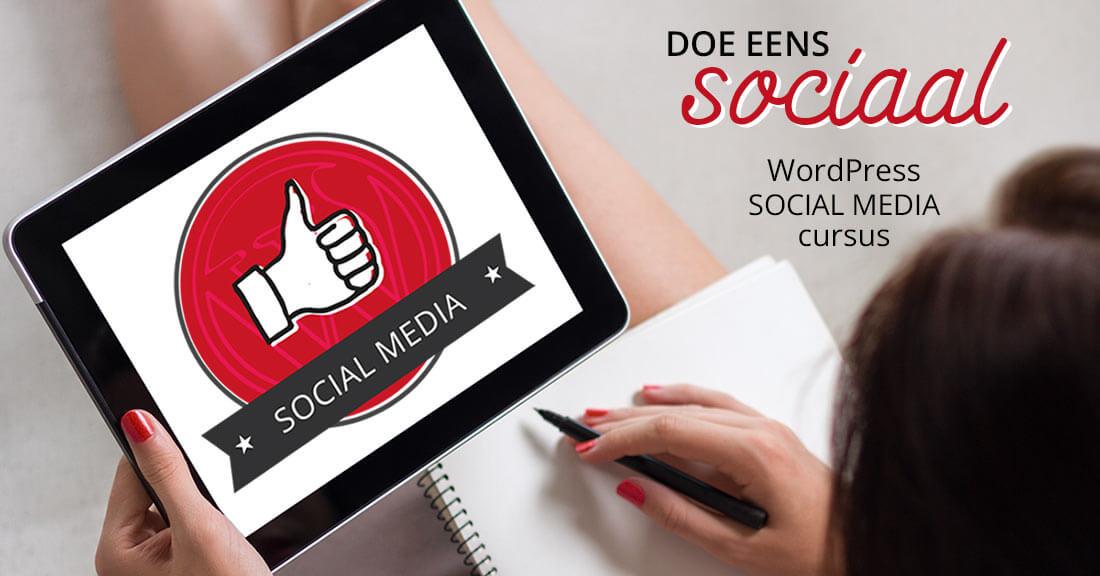 WordPress – Social Media Cursus
