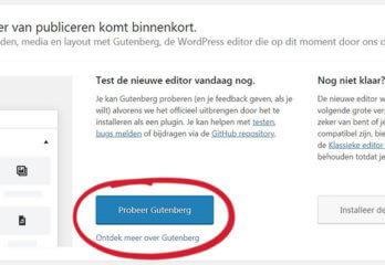 Gutenberg plugin: nu al overstappen of nog even wachten?