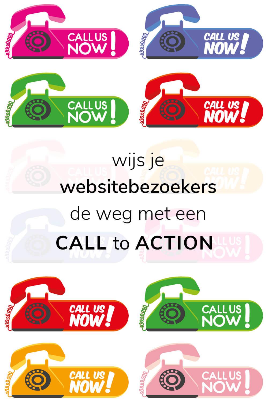 Call to action - Laat jij je bezoekers doodlopen of wijs je ze de weg?
