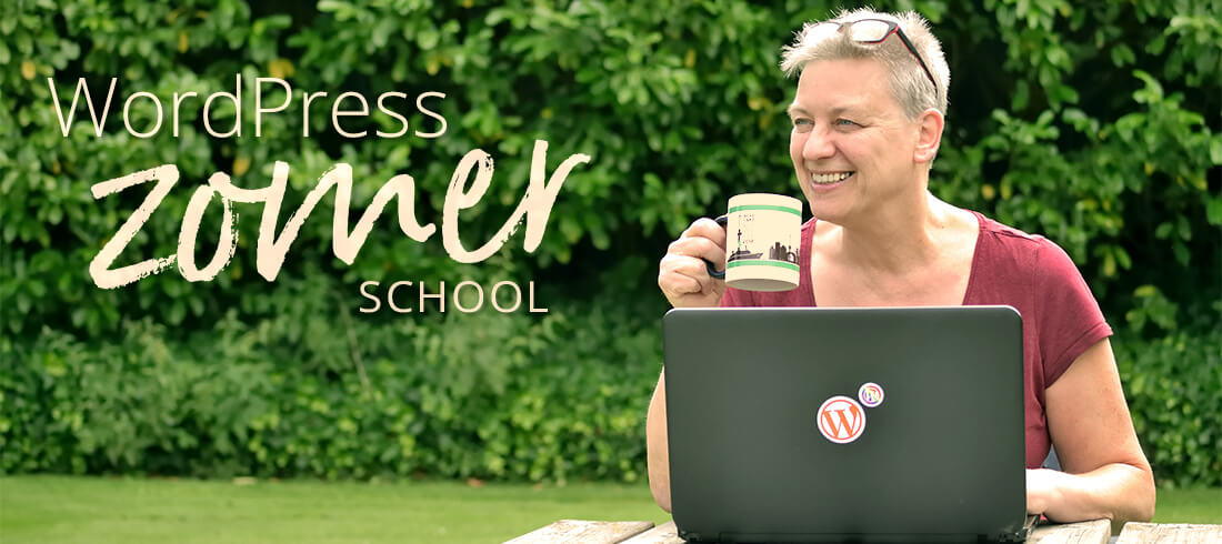 WordPress Zomerschool: Jouw Wervende WordPress Website