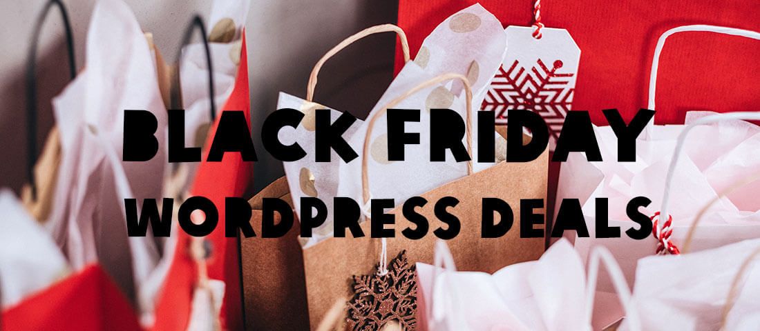 Black Friday WordPress Deals – mijn selectie