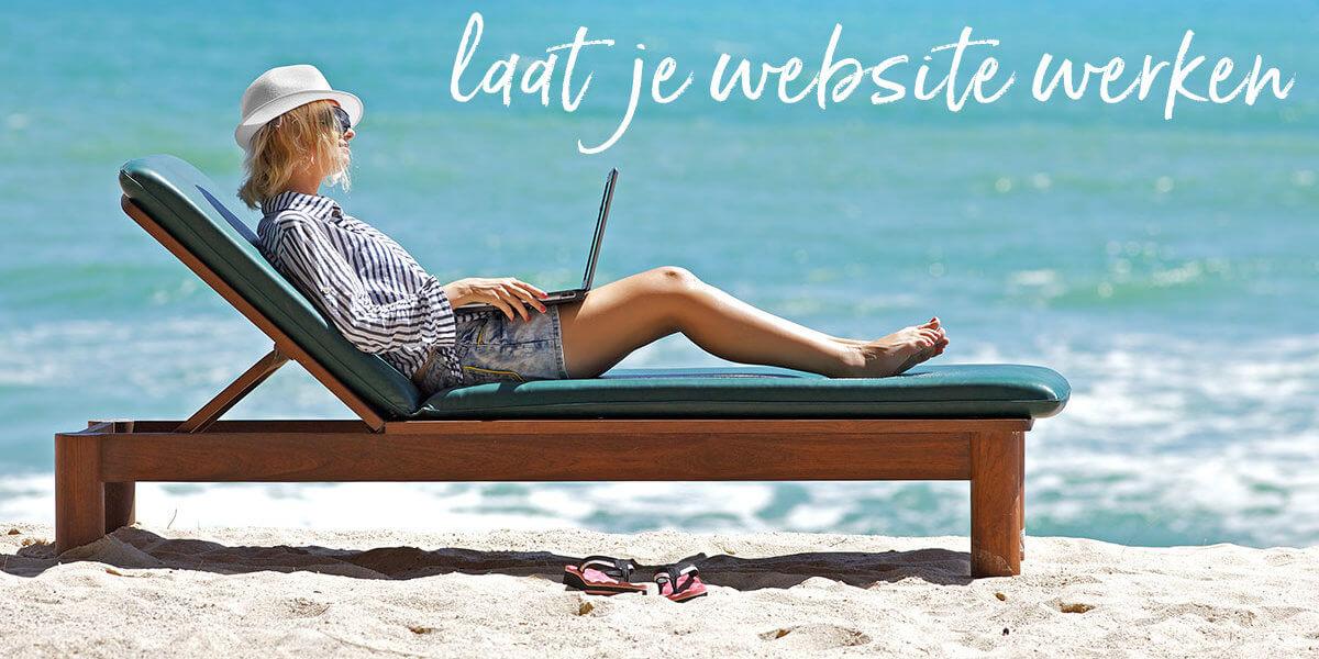 Laat je website werken – online workshop